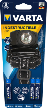 1W LED Indestructible H20 Head Light (Typ 17731)  inkl. 3xAAA