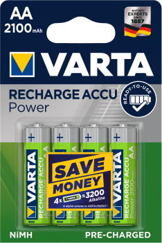 Varta 56706 4er AA 2100 mAh Ready to use