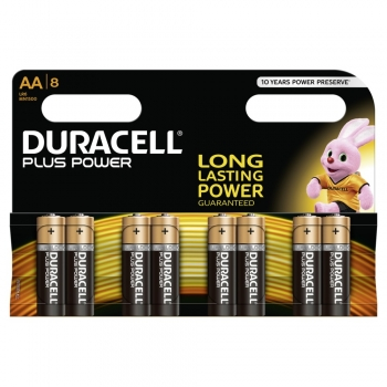Duracell Plus Power - AA MN1500/LR06 8er Blister Standard