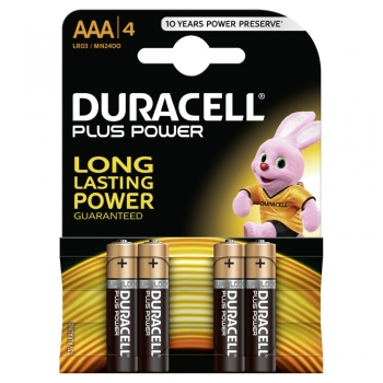 Duracell MN 2400 AAA (LR03)  4er Plus Power