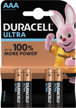 Duracell Micro MX-AAA (MN2400/LR03) Ultra in 4er-Blister