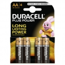 Duracell AA MN1500/LR6 4er Plus Power